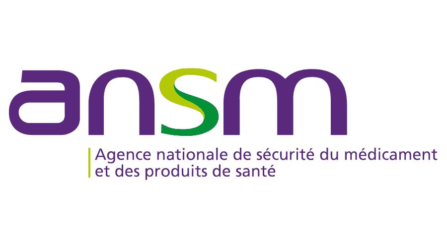 Ansm agence nationale de securite du medicament et des produits de sante logo vector