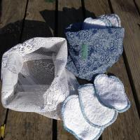 kit de papier toilette lavable
