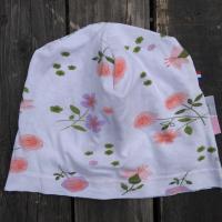 bonnet de bloc lavable fleuri