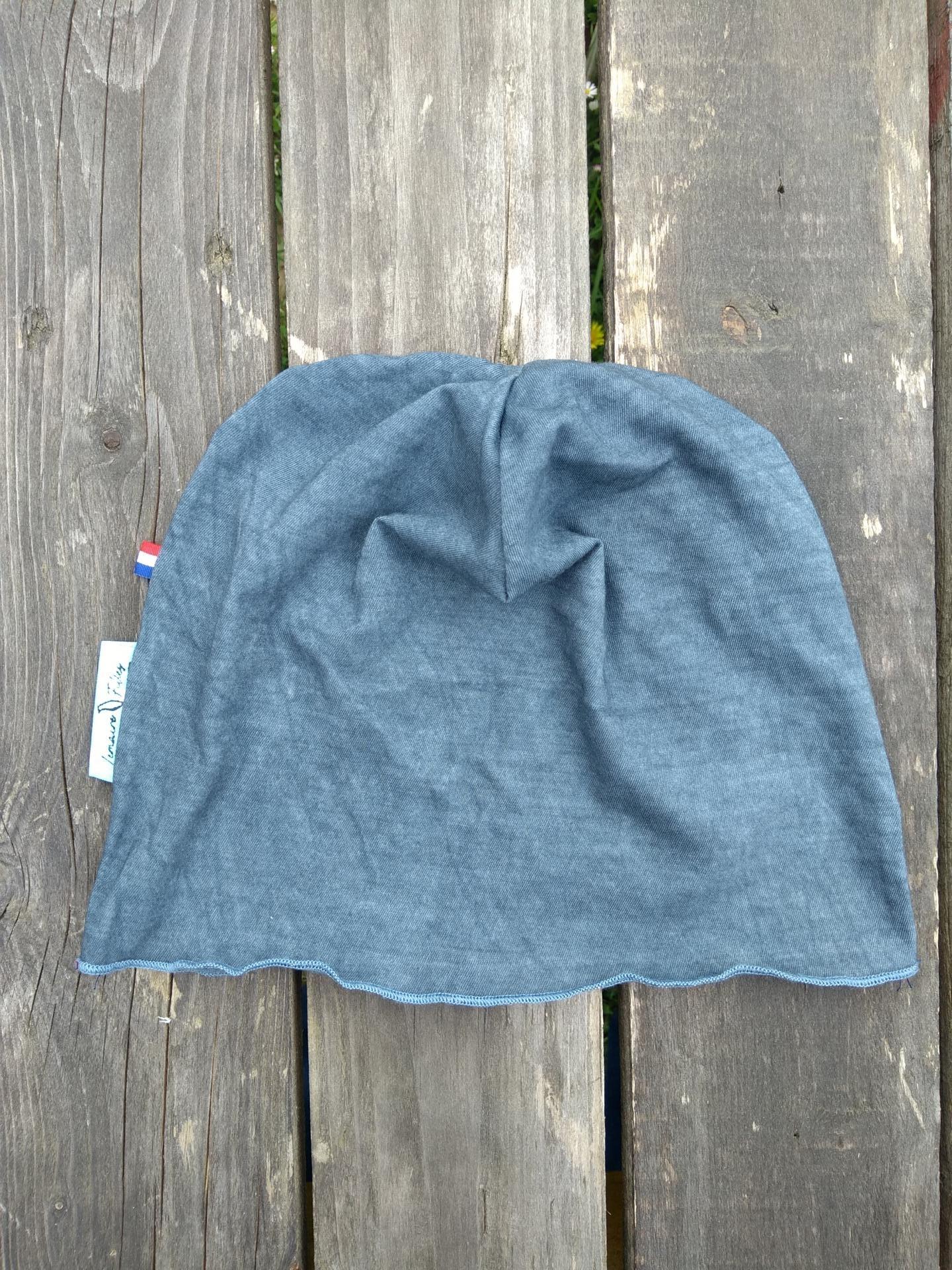 bonnet de bloc lavable gris tempête