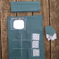 protège lire tissu et morpion