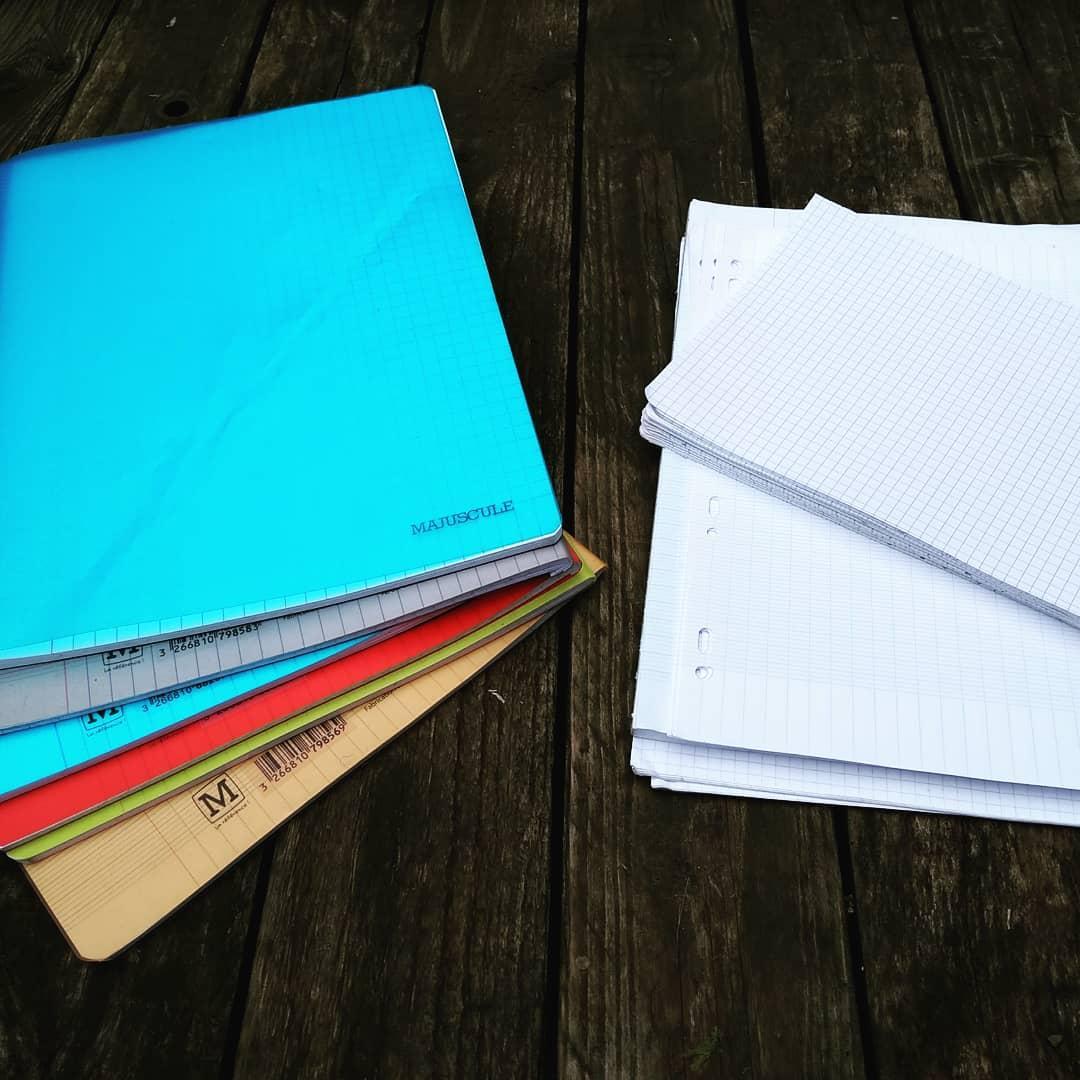 recyclage des fournitures scolaires: économies de papier cette année