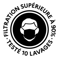 Logo 10 lavages noir