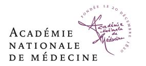 Logo acadelie de medecine